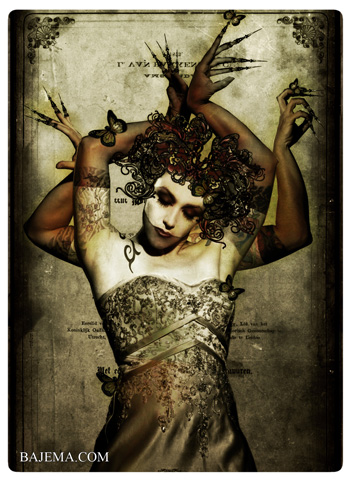 Bajema.com The Black Cat and Poisoned Tea Society Collection - The Kali Bride
