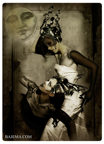 Bajema.com The Black Cat and Poisoned Tea Society Collection - The Robber Moon Brides I