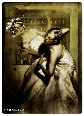Bajema.com The Black Cat and Poisoned Tea Society Collection - The Siamese Brides