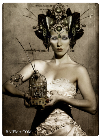 Bajema.com The Black Cat and Poisoned Tea Society Collection - The Tempest Bride