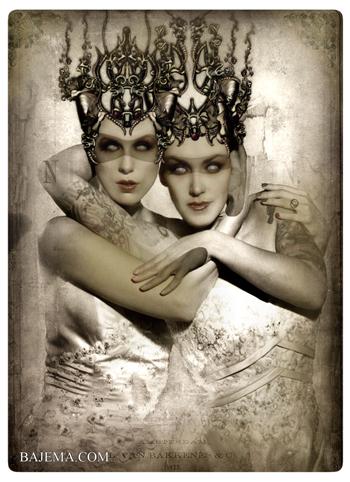 Bajema.com The Black Cat and Poisoned Tea Society - The Winter Brides
