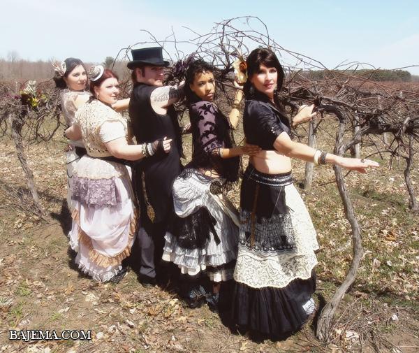 Bethalynne Bajema - Bajemas Web - Portraits - Boheme Tribal Belly Dance Troupe