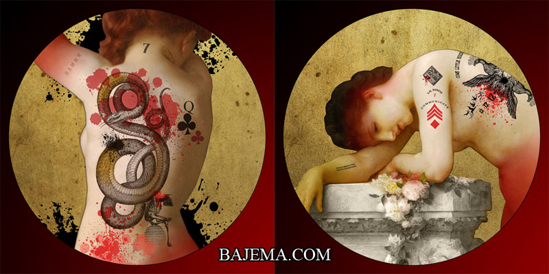 Bethalynne Bajema - Blood and Ink Lenormand Deck